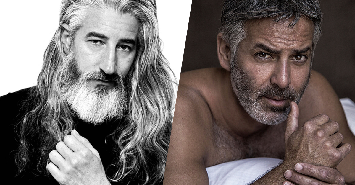 Just A Bunch Of Sexy Male Models Over The Age Of 50