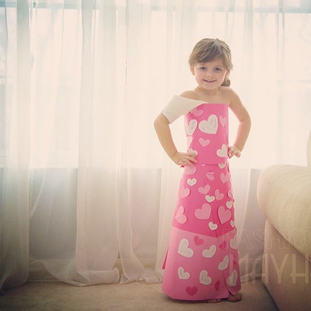 Фото платья своими руками из салфеток