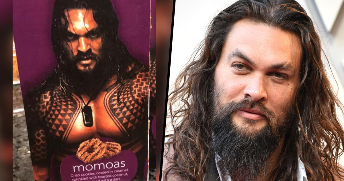 Jason Momoa S Response To Girl Scout Selling Cookies Using Topless