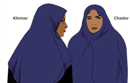 Not all headscarves are burkas  7 types of Muslim headwear for women ... 1b03a2e922d