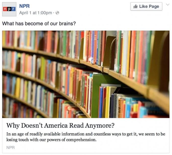 NPR April Fools Day Comments - 04