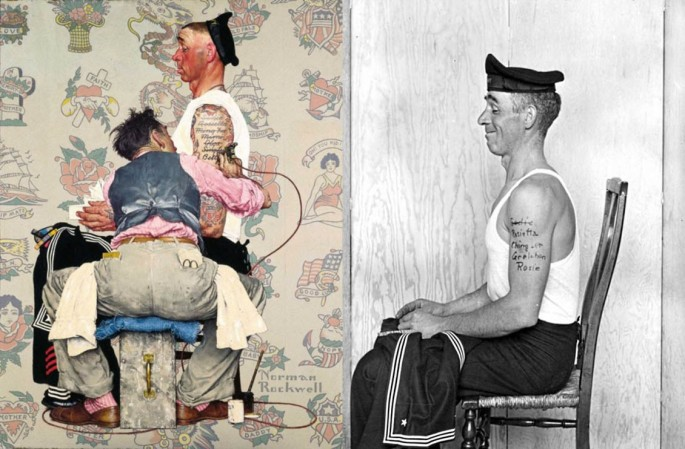 Norman Rockwell Painting Photos 3