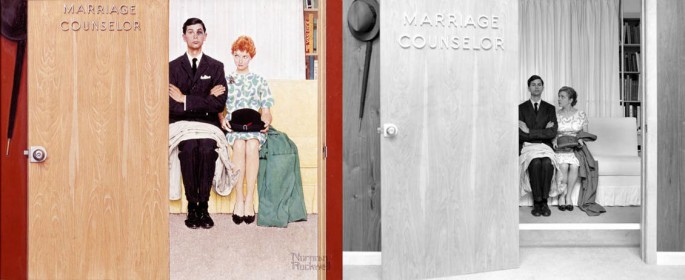 Norman Rockwell Painting Photos 4