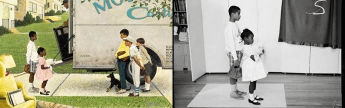 Norman Rockwell Painting Photos 5