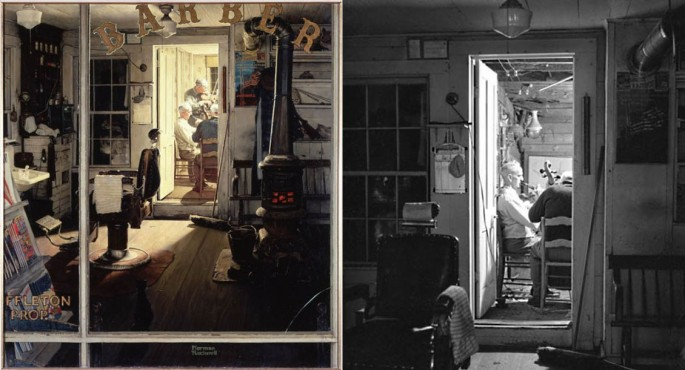 Norman Rockwell Painting Photos 6