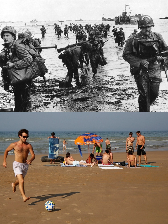 Normandy Then Now 03