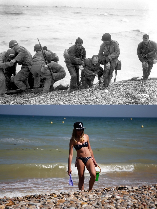 Normandy Then Now 05