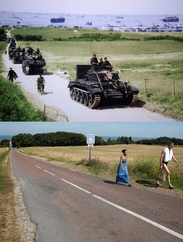Normandy Then Now 06