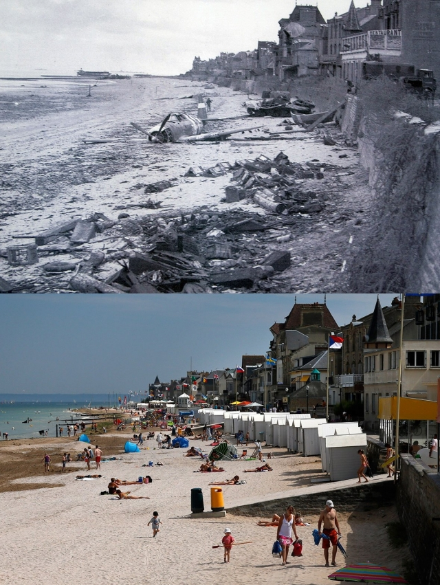 Normandy Then Now 07
