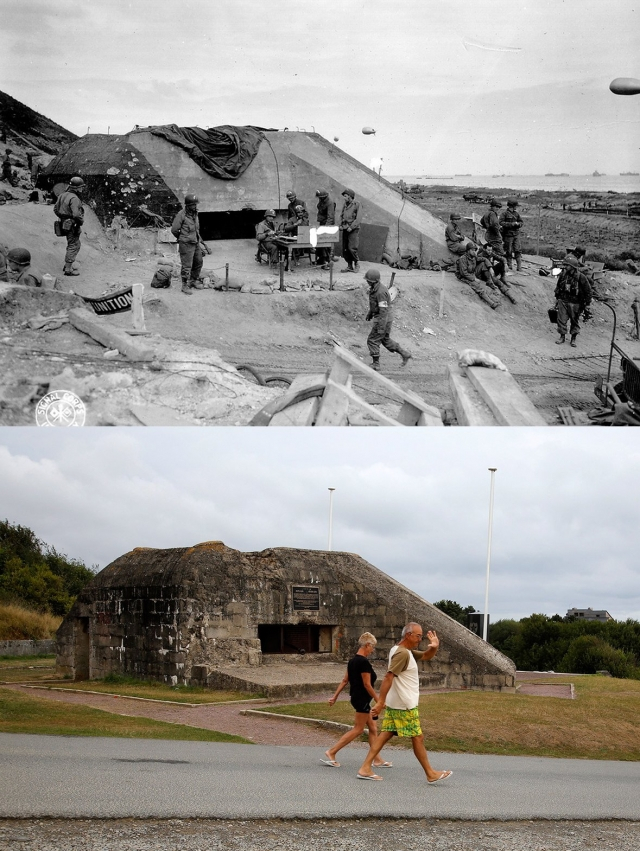 Normandy Then Now 09