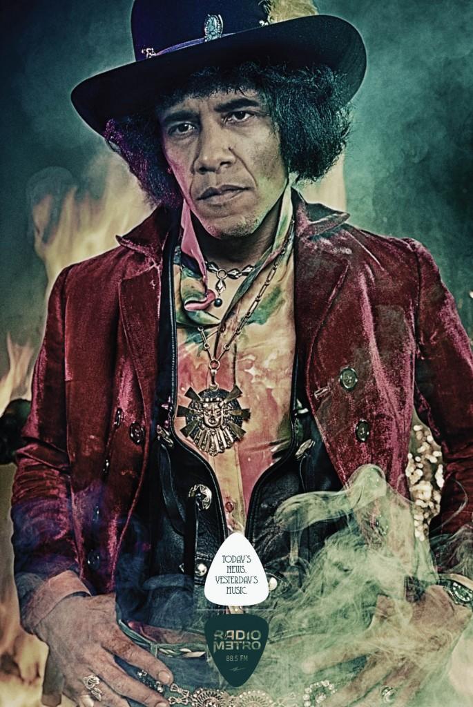 Obama Hendrix Ad