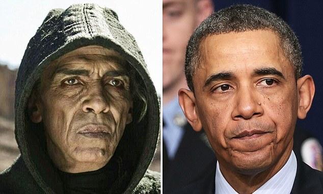 Obama and Satan