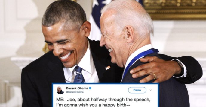 Obama's 'Happy Birthday' Meme to Joe Biden Proves Their ...
