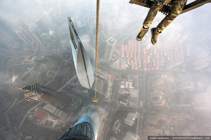 On the Roofs - Shanghai Tower - 07