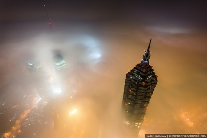 On the Roofs - Shanghai Tower - 15