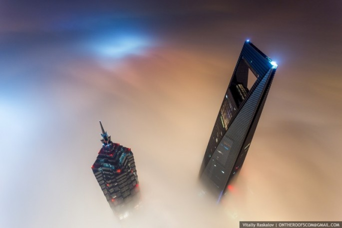 On the Roofs - Shanghai Tower - 18