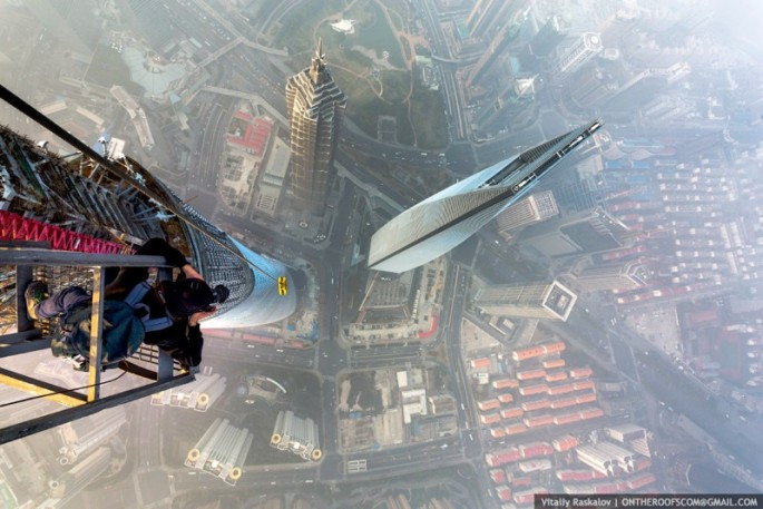 On the Roofs - Shanghai Tower - 20