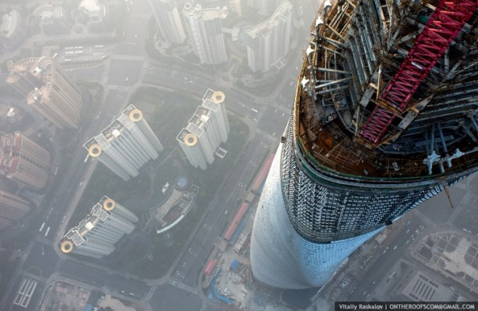 On the Roofs - Shanghai Tower - 21