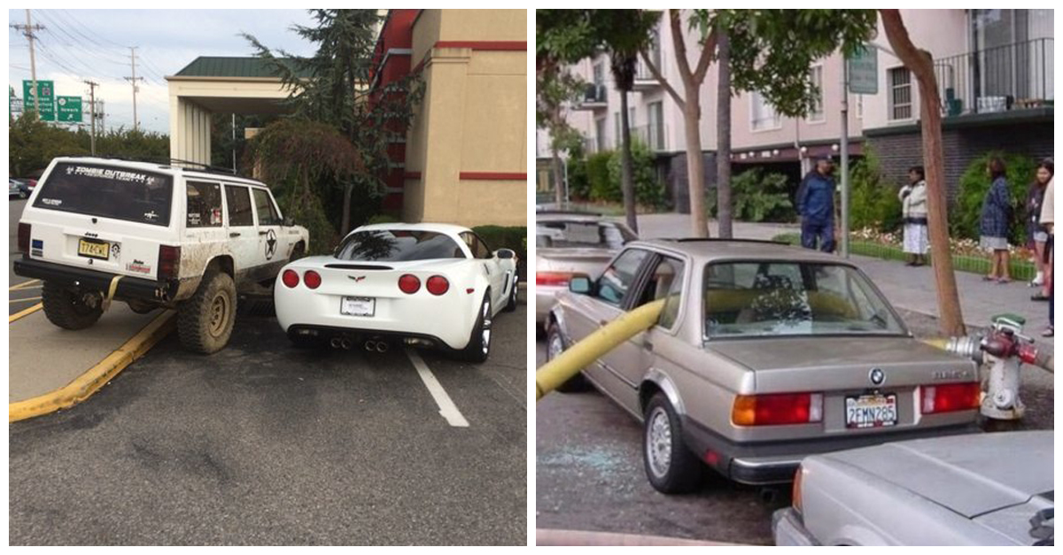35 Drivers Who Exacted Their Parking Lot Revenge In The