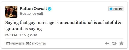 Patton Oswalt's Twitter Trolling - 01