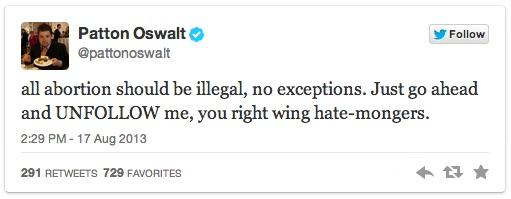 Patton Oswalt's Twitter Trolling - 02
