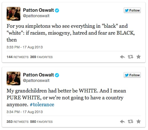 Patton Oswalt's Twitter Trolling - 03