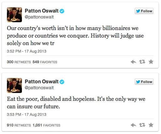 Patton Oswalt's Twitter Trolling - 04