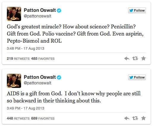 Patton Oswalt's Twitter Trolling - 05