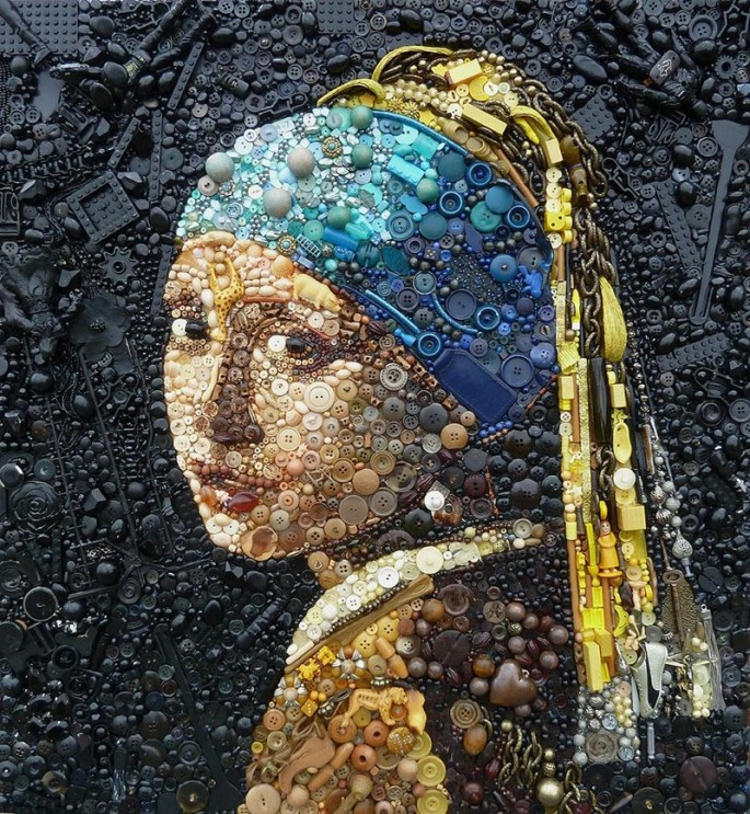 Plastic art by Jane Perkins - 1
