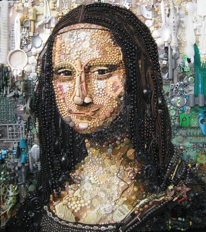 Plastic art by Jane Perkins - 5