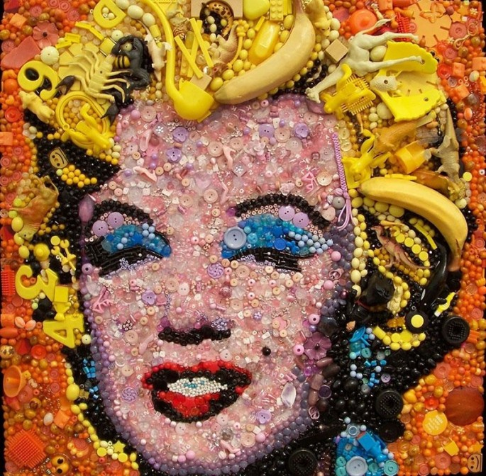 Plastic art by Jane Perkins - 7