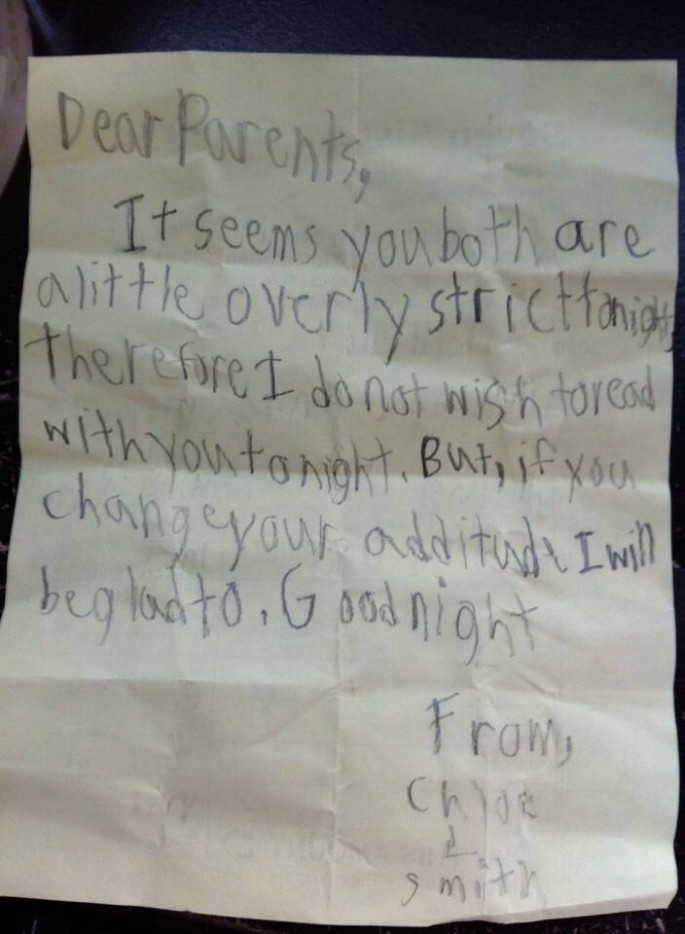Politely Angry Note