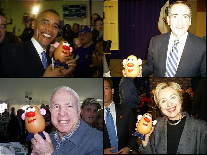Potato Head & Politicians