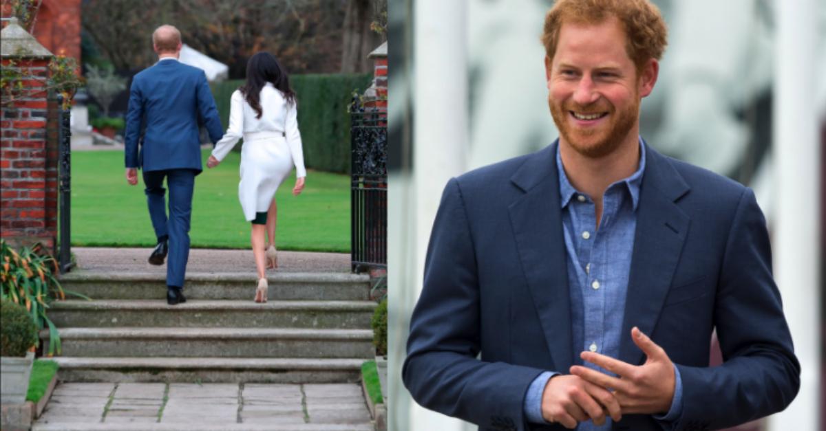prins harry engaged