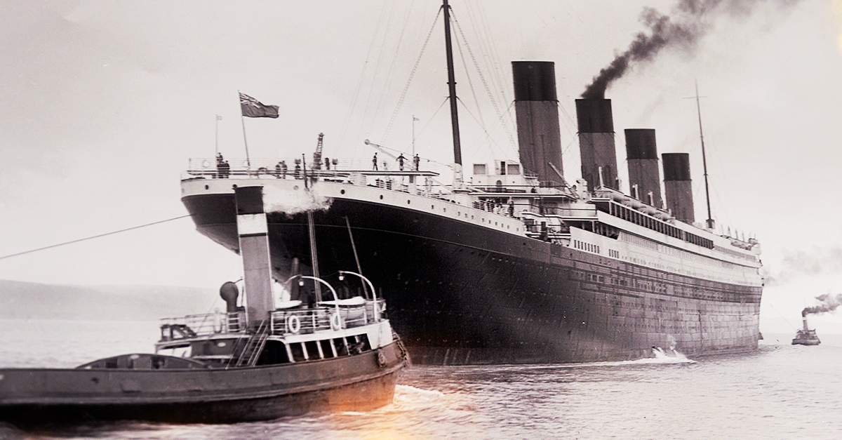 Image result for titanic ship