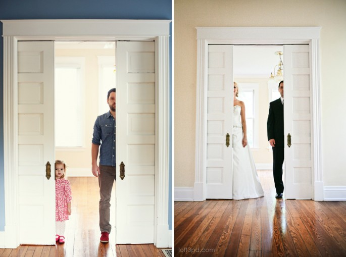 Recreating Wedding Photos With Daughter - 01