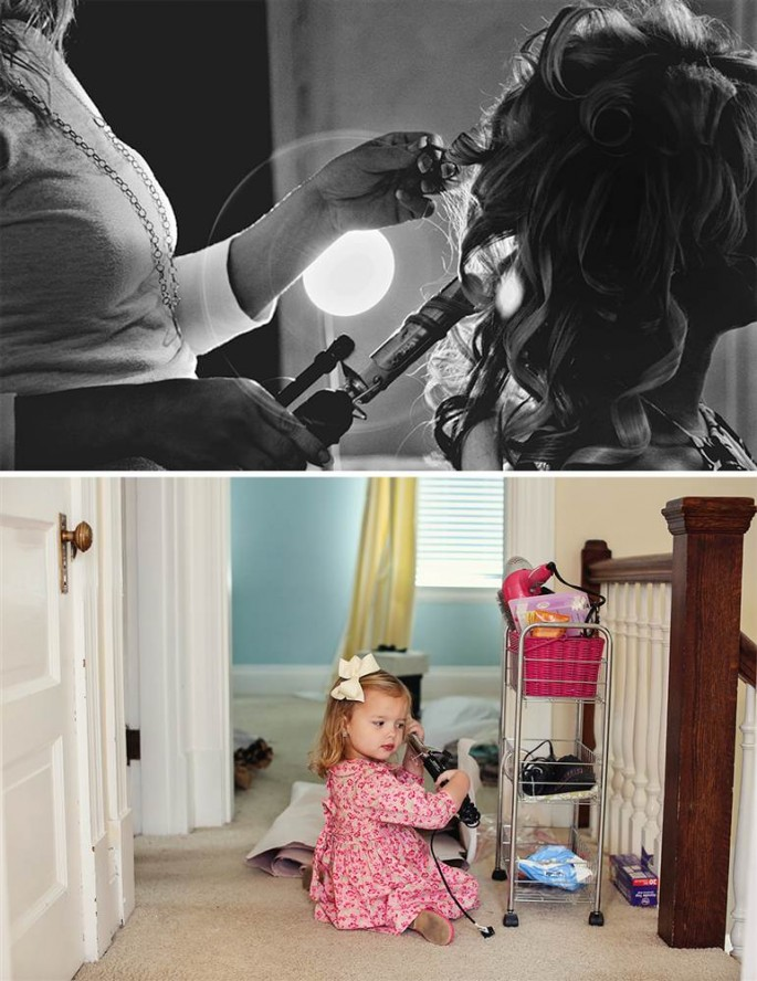 Recreating Wedding Photos With Daughter - 06