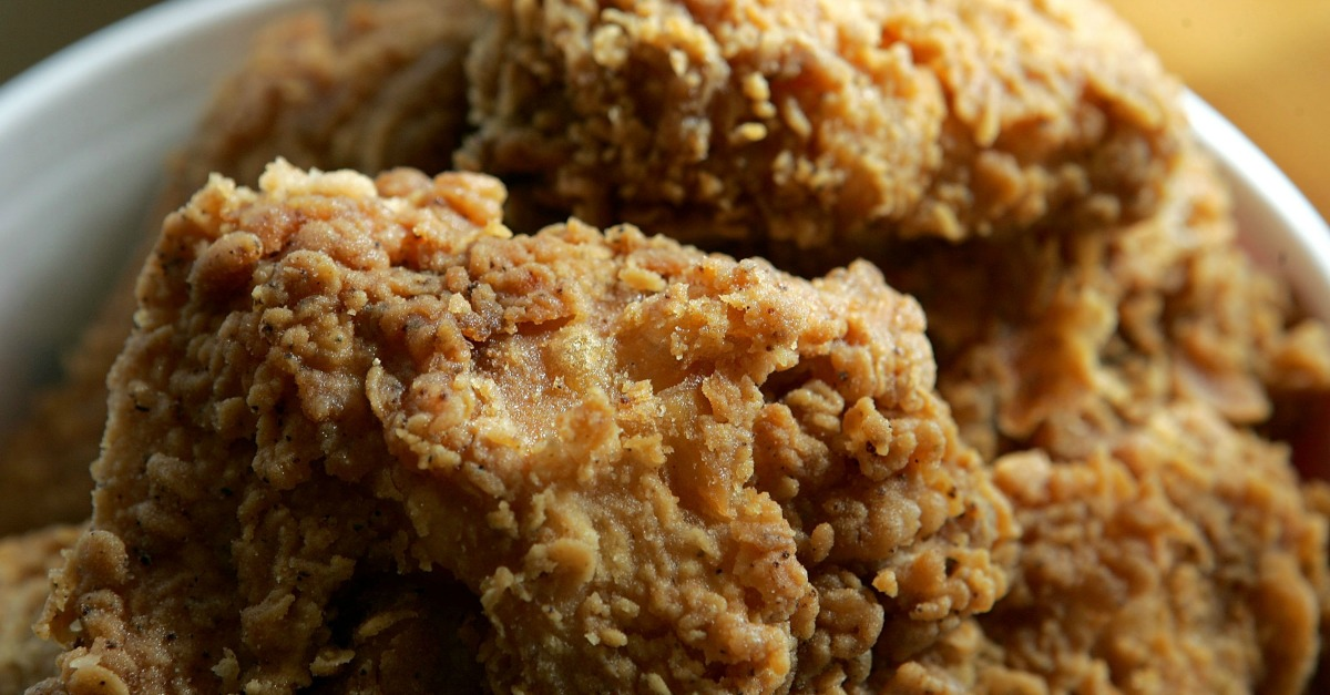 Fried chicken fraud restaurant gets caught passing off - Kentucky french chicken ...
