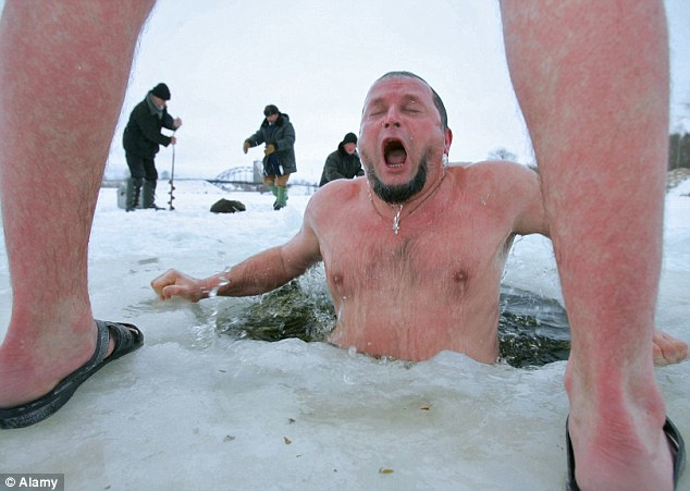 Russian Ice Jumper