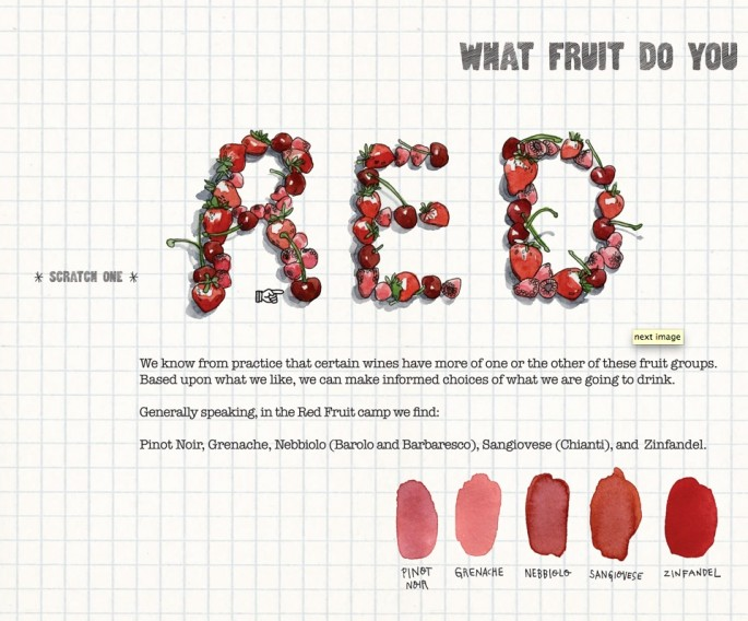 Scratch-and-sniff Wine Book - 02