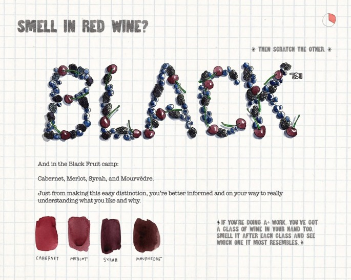 Scratch-and-sniff Wine Book - 03