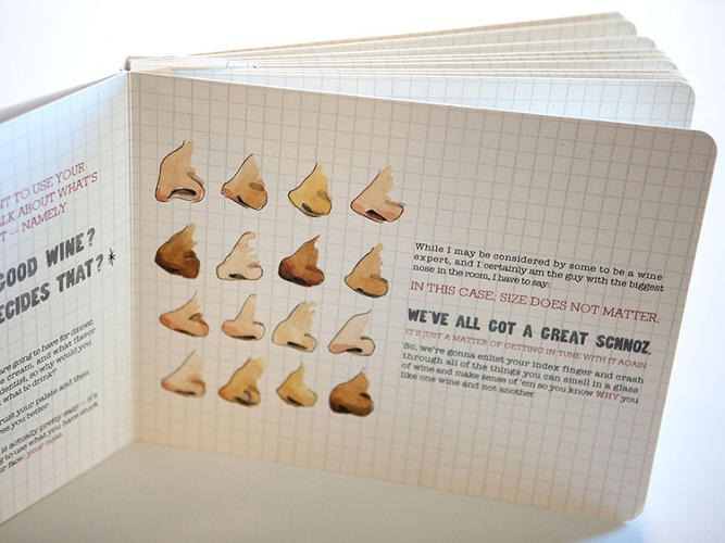Scratch-and-sniff Wine Book - 04