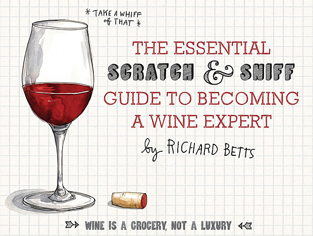 Scratch-and-sniff Wine Book