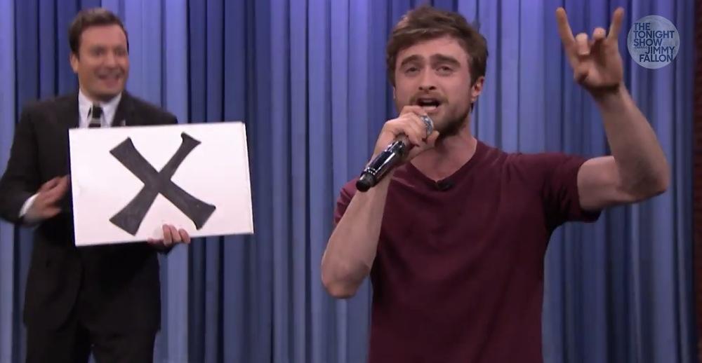 Daniel Radcliffe Tears It Up Rapping Blackalicious's ... Daniel Radcliffe Rapping