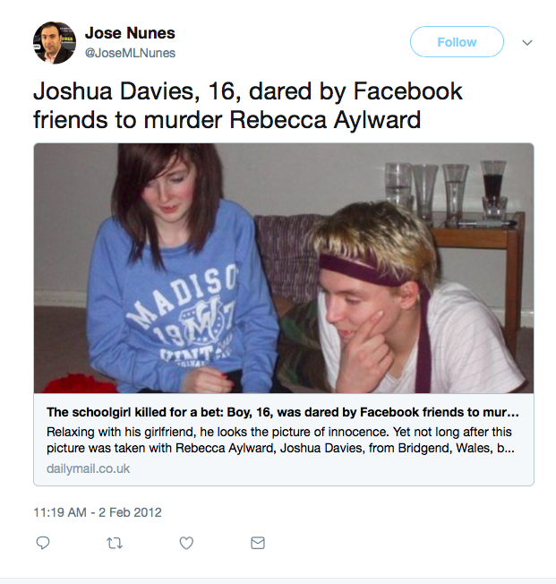 6 Murderers Who Confessed to Their Crimes on Facebook | 22 Words
