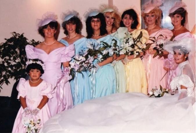f0453a766c2 27 Bridesmaids Dresses That Are so Hideous