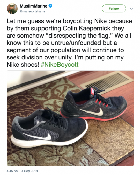 4fa3717877ef 29 Tweets About Colin Kaepernick s Explosive Nike Ad You Need to ...