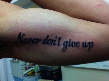 29 Tattoos People Thought Were a Good Idea at the Time | 22 Words