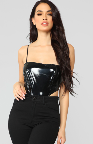 663072e779 This Fashion Nova Bodysuit Only Covers 1 4 of Your Vagina