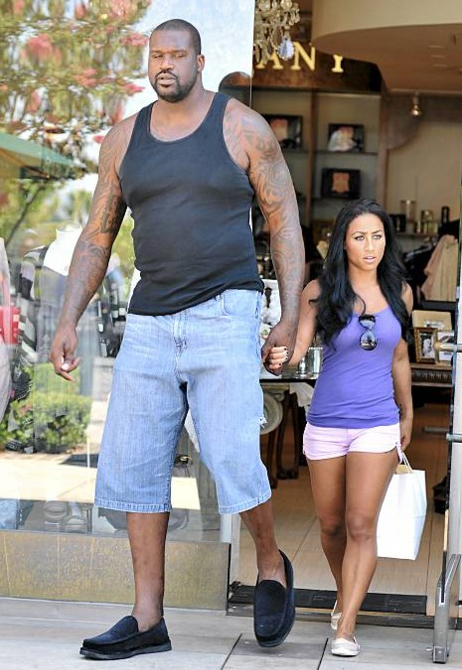 You Shaq and his girlfriend